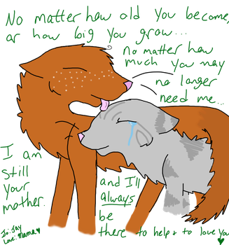 I'll Always Be Your Mother by StarryCatPrincet