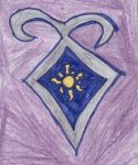 Rapunzel's Shadowhunter Crest by Frie-Ice