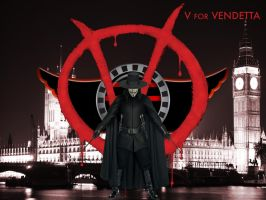 V for Vendetta wallpaper by SWFan1977