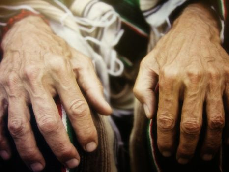 Old Hands by Mysstika