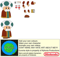 Character Builder-Toad Minister by Kphoria