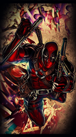 Deadpool by v3numb