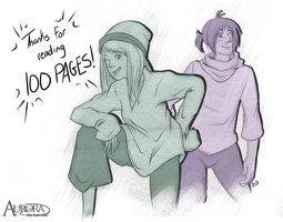 +Aurora - 100 pages!+ by Sheena-X-Zelos