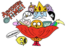AdventureTime Sundae by foxgirlKira