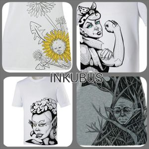 Exclusive Designs Now Available by InkubusDesign