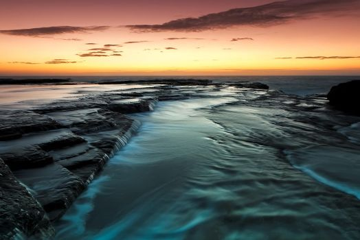 Flowing Down by MarkLucey