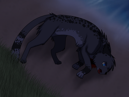 Ashfur's Death by DemiiDee