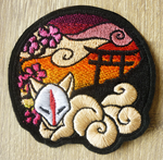 FOR SALE: Shrine of Inari patch ~ SUNSET by goiku