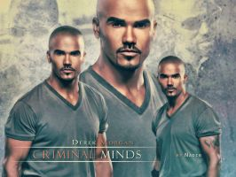 Shemar Moore as Derek Morgan by Nadin7Angel