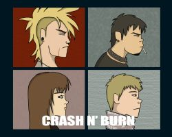 Crash N' Burn Gorillaz Version by Spipme