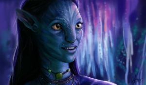 Neytiri by Beth-Gilbert