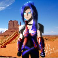 Optimus Prime - AoE - Human Female by MNS-Prime-21