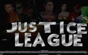 Justice League fan poster by SteveIrwinFan96