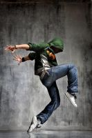 hip hop dancer by NSTYLEART