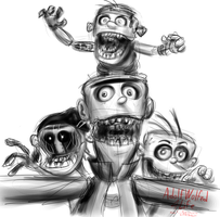 Five Nights at Eddy's... Two. by AdolfWolfed4Life