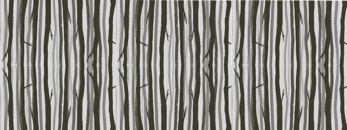 trees wrapping paper by mathpaper