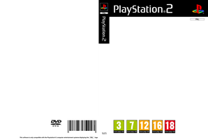 Playstation 2 Cover PAL ( Template ) by Essinay