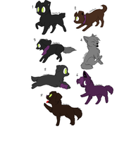 Taker Puppies by MoontheMew