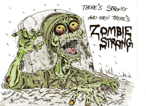 Army Strong colored by lagatowolfwood