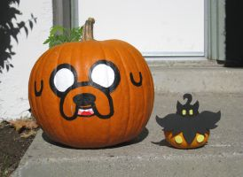 Halloween Pumpkins 2014 by xxx-TeddyBear-xxx