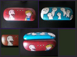 PewdieCry Glasses Case by Darkaza-Shivenz