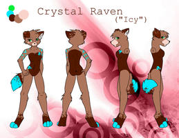 Icy ref (old version) by CrystalRaven98