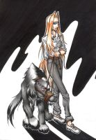 Hellsing -Seeing Eye Dog-COLOR by skangl