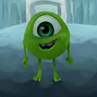 Mike Wizowski! by Beere-Jade