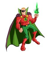 green lantern alan scott by Benjaminjuan