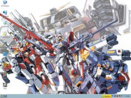 Super Robot Desktop by RedWingnut