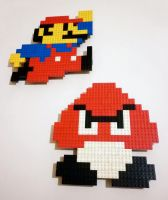 LEGO: Mario, Goomba by Meufer