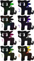 Spotted Cat Adoptable Lot by Katttty920