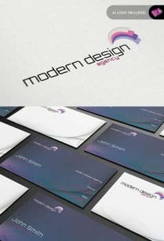 Stationary + Identity - Modern Design Agency by isoarts2