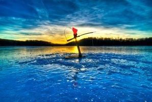 Ice Fishing by pennuja