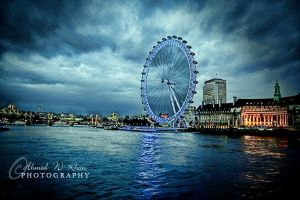 London Wheel by ahmedwkhan