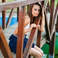 On the bridge to happiness by Valentin-Stanciu