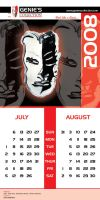 Genies Collection Calendar 004 by hamdankhatri
