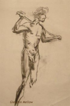 Life Drawing - Male 2 by GlendonMellow