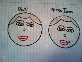 Prince James is David by Twins429