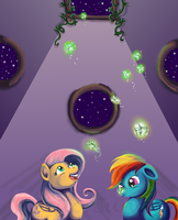 MLP: Fireflies by SailorSun546