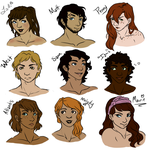2015 ZombieFighters Colored by snowyfoot3000