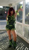Poison Ivy cosplay by thedarkartistgirl