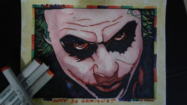Why So Serious? by dovictirol