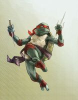 Raphael - cool but rude by facelesscow