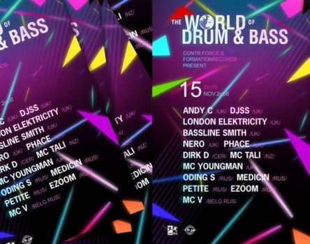 The World of Drum and Bass by kepski