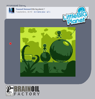 Little Big Planet meets the GameBoy by Senior-X