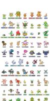147 SPRITES REVEALED by trehman