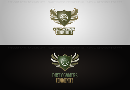 Shield Logo by DianaGyms