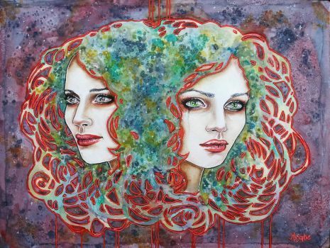 Emotional duality by MsSophieArt