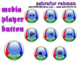 Media Player Button by ashraf882